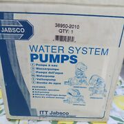 Brand New Jabsco 36950-2010 Water System Pump 24v 3.0 Gpm 20-40 Psi