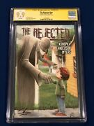 The Rejected 1st Print Cgc Signature Series 9.9 Signed By Creator Stan Konopka