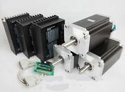 Us Free3axis Nema 42 Stepper Motor 4120oz-in 8a 4wireanddriver Dm2722a Cnc Router