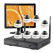 720p Wireless Security Camera System Outdoor Wifi 1/2/3/4tb Hard Drive Choose