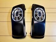Custom 6x9 Lids With Speakers Included For Harley Davidson Touring Bikes 89-2013