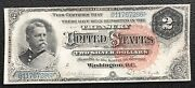 2 Series Of 1886 Silver Certificate