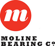 Moline Piloted Flange Tapered Roller Bearing Type E 3 Bore