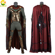 Spider Man Far From Home Mysterio Quentin Beck Cosplay Costume Halloween Outfit
