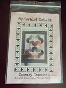 Spherical Delight Quilt Pattern - By Country Creations - Basic Log Cabin Blocks