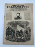 Frank Leslie's Newspaper May 13, 1865 Killing Of Booth Lincoln Assassination