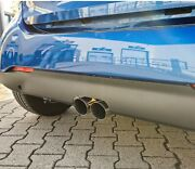 Fox Stainless Steel Exhaust Pipe Smart Fortwo Type 453 Since 2014 2x80mm Double