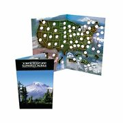National Park Quarter Collection Book Folder Map Made With Collectors In Mind