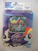 My Little Pony Rarity And Rainbow Dash Collectible Premiere Card Game Foil / Plain