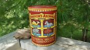 2002 Barnumand039s Animals Crackers National Biscuits Co. Animal Tin Collectors Tin