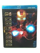 Iron Man 2 Blu Ray Dvd 3 Disc Target Exclusive Steelbook Case Lenticular Cover