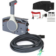 Outboard Remote Control Box For Yamaha 703-48205 Boat Marine Push Open Type