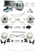 1959-64 Chevy Impalafront And Rear Disc Brake Kit W/ Line Kit And Wilwood Upgrades