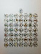 1999-2008 Us State Quarters Complete Set Of 50 Coins With Symbols Picturesandnbspandnbsp