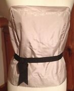 Fenn Wright Manson Ladies Corset Top/new And Tags/bandeau/size 16/occasion/silk