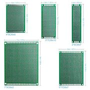 32pcs-double Sided Pcb Board Prototype For Diy Soldering With 5 Size Arduino Kit