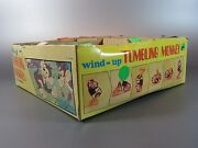 Vintage 12 Plastic Wind Up Tumbling Sl Monkey Toy Lot Made Hong Kong 70's 80's