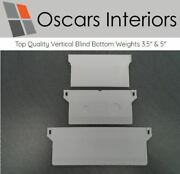 Top Quality Vertical Blind Bottom Weights 3.5 And 5 Width Chainless Spare Parts
