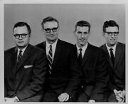 1960 St Paul Notre Dame Officers At Ball Press Photo