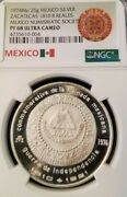 1974 Mexico Medal 1810 Zacatecas Provisional 8 Reales Ngc Pf 68 Ultra Cameo Top