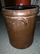 Antique Redware Unmarked Lincoln Pottery Works