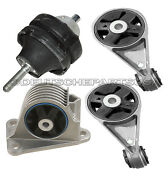Engine Motor Mount Mounts Kit L And R, Front And Rear For Mini Cooper 2003-2004
