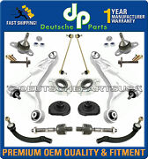 01-03 Volvo S80 Control Arms Ball Joints Tie Rods Strut Mounts Suspension Kit 14