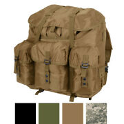 Large Military Alice Pack, Straps And Metal Frame Waterproof Hiking Camping Travel