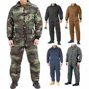 Cold Weather Insulated Coveralls Uniform Work Duty Military Insulated Jumpsuit