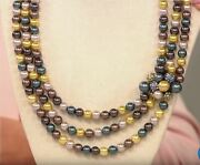 Heidi Daus Captivating Cluster Crystal And Glass Pearl Necklace 17- Nwt
