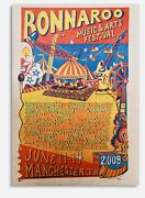 Jim Pollock Bonnaroo 2009 Poster Signed Numbered Edition Mint