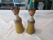 Vinegar And Oil Dispenser /container , Vintage , Collectible , 9x3x3