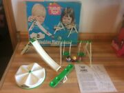 Vintage 1972 Hasbro Weebles Playground W/original Box And Instructions