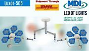 Examination Ot Light Operation Theater Led Surgical Operating Lamp 60 + 60 Dual