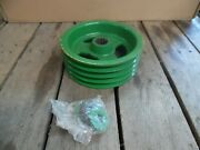 John Deere 945 946 Rotary Impeller Mower Conditioner Drive Pulley Ae56539