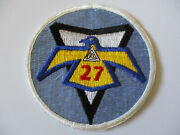 Vietnam Era Usaf Us Air Force Accademy Class Thunderbird 27th Squadron Patch