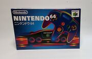 Rare Brand New Nintendo N64 Game Console System Japanese Version Made In Japan
