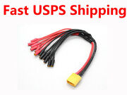 Xt60 To 6 X 3.5mm Xt60 Multi Rotor Esc Power Breakout Cable Hexacopter Rc