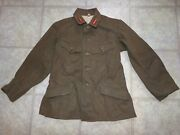 Wwii Military Uniform Imperial Japanese Army Green Wool Jacket W/ Badges Pins