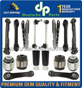 Rear Trailing Control Arms Track Rods Bump Stops For Bmw E90 Suspension Kit 16pc
