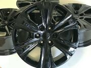 20 Inch Ford F150 Expedition Set Of 4 04-2019 Black Factory Oem Wheels Rims Bla