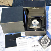 Rare Chrono Fortis Flieger Aviator Automatic Limited Edition 110/500 Sub 100mt