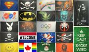 Large High Quality Miscellaneous Variety Flags Banners 3'x5' -indoor/outdoor-new