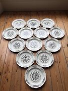 Wedgwood Colonial Williamsburg 13 Plate State Seal Collection