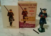 Marx Boxed Warriors Of The World Revolutionary War Soldier Roger Medford Playset