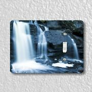 Waterfall Light Switch And Outlet Plate Covers