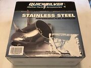 Quicksilver Thunderbolt Volvo Front Dps 21 Pitch Left Hand Stainless Propeller