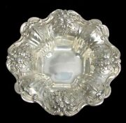 Reed And Barton Francis 1st Sterling Silver Candy Dish / Bowl X569