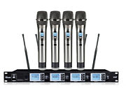 Cordless Microphone System For Church Professional Karaoke Vocal Wireless Mic