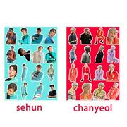 Exo Sc Photo Stickers What A Life Sehun Chanyeol Diy Stickers For Mobile Phone